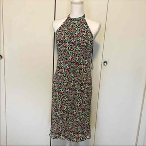Nwot Lily floral dress backless size L